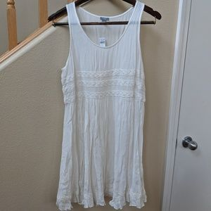 Aerie Viscose White Tunic